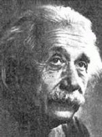 Bild på Einstein