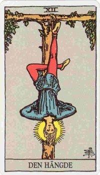 Den hängande mannen, avbildad